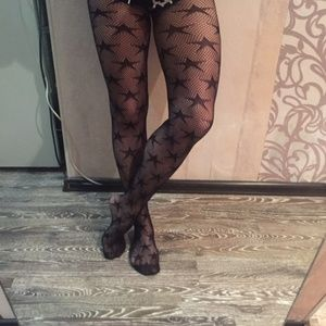 Accessories - Star Fishnets Pantyhose